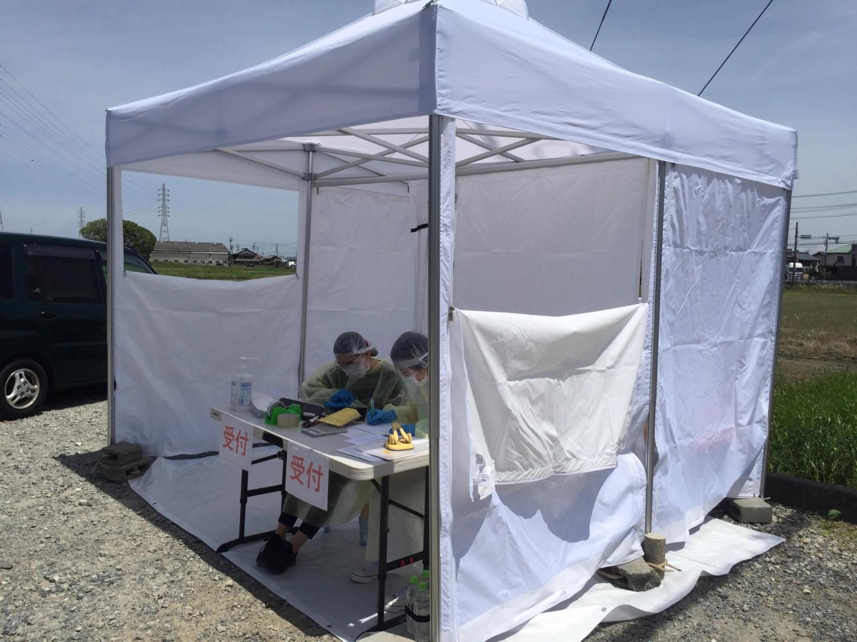 外来診察用テント
